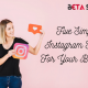 Five Simple Instagram Hacks For Your Business